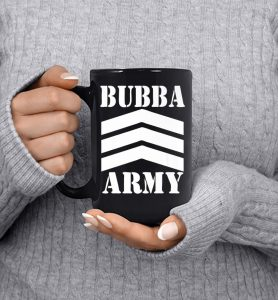 Original-Bubba-Army-Logo-wht-Official-Bubba-Army-Design-Premium_Mug_Black